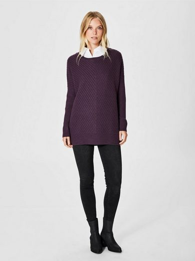 Selected Femme Woll Strickpullover