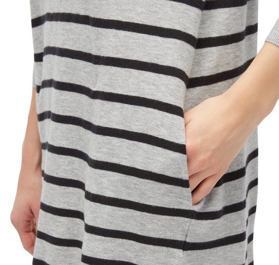 Tom Tailor Denim Strickkleid gestreiftes Kleid