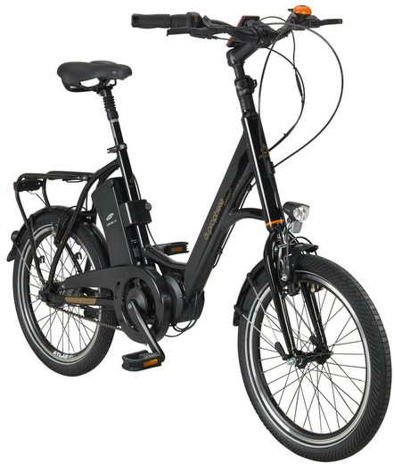 prophete e bike city navigator caravan 20 zoll 7 gang mittelmotor 374 wh online kaufen otto. Black Bedroom Furniture Sets. Home Design Ideas