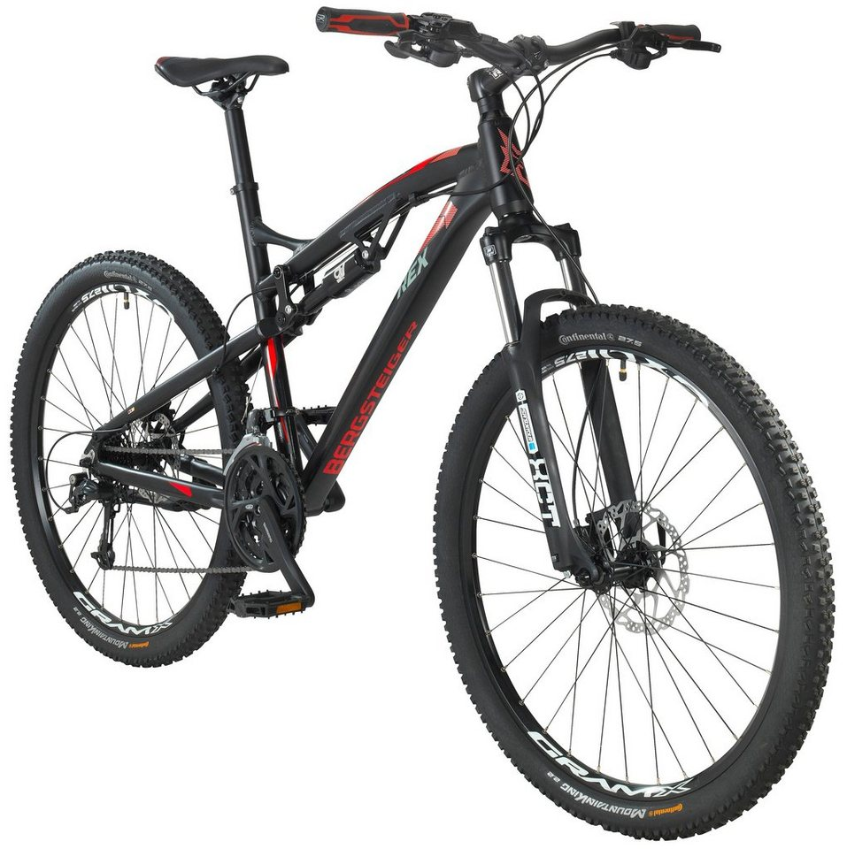 rex mountainbike bergsteiger 760 27 5 zoll 27 gang. Black Bedroom Furniture Sets. Home Design Ideas