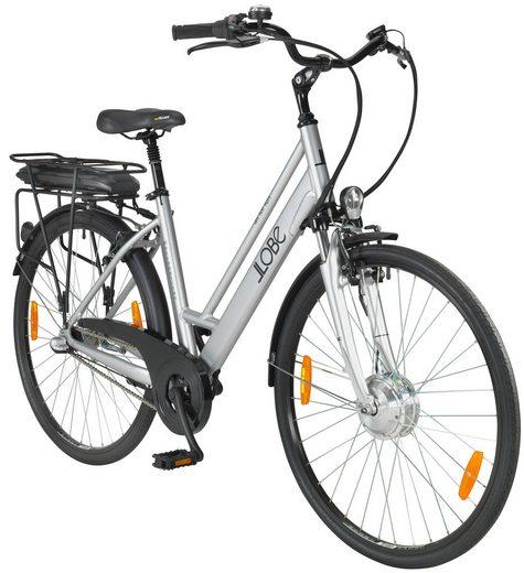 "LLOBE E-Bike City Damen »Metropolitan Lady«, 28"" 3G, Gepäckträger"