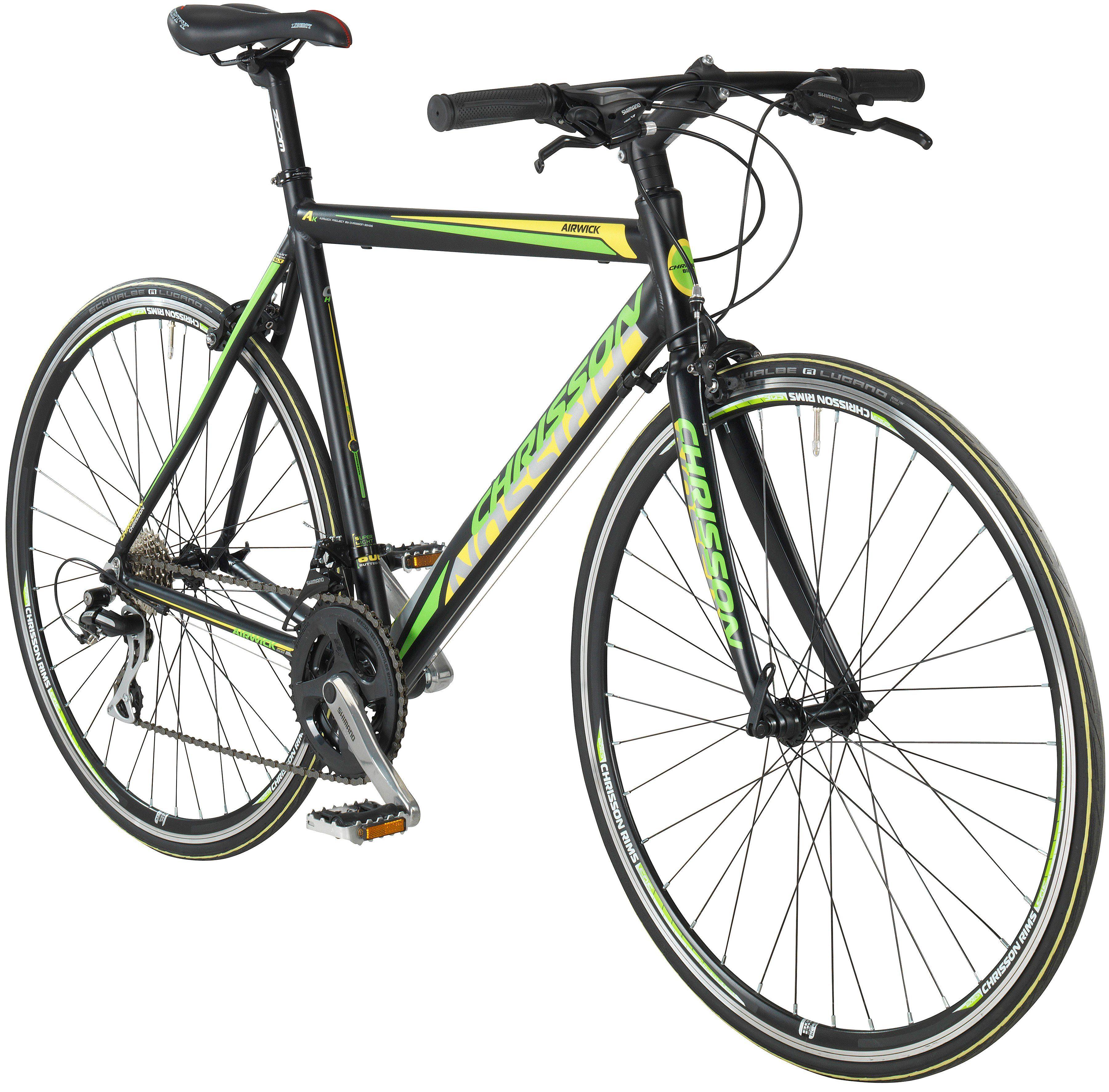CHRISSON Fitnessbike »AIRWICK«, 28 Zoll, 24 Gang, Rennbremsen, RH 53