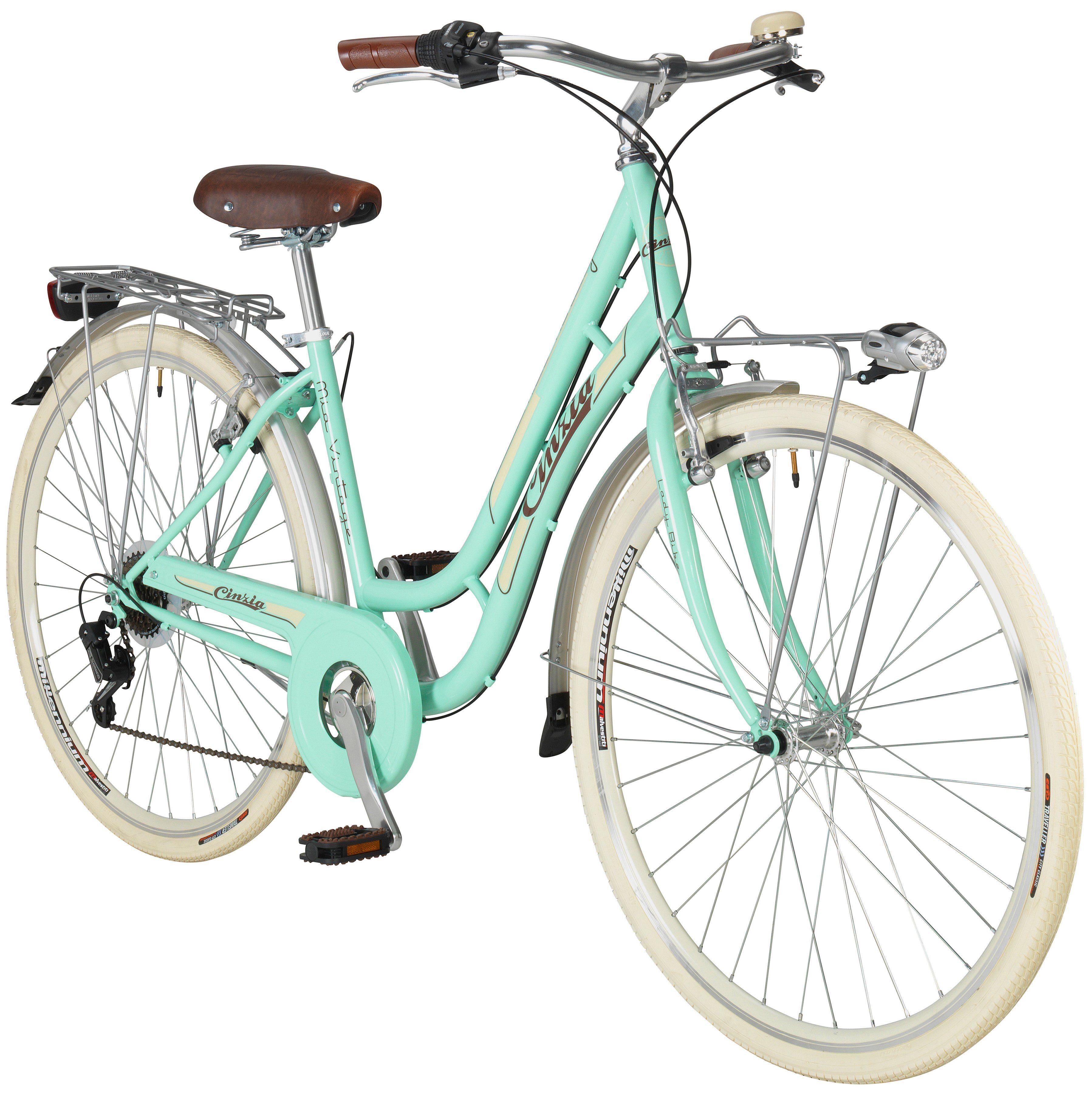 Citybike Damen »Mia«, 28 Zoll, 6 Gang, Felgenbremse