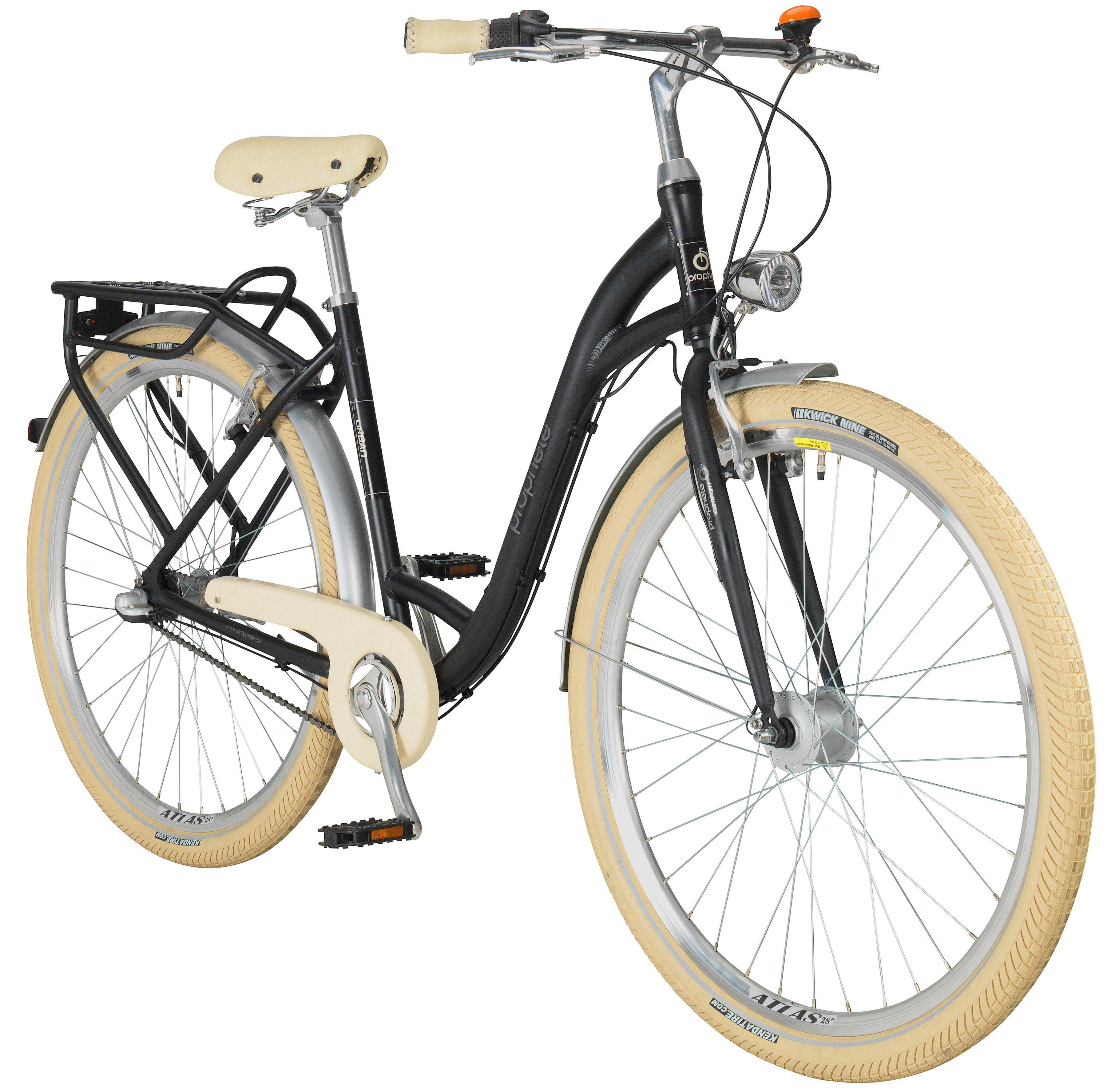 PROPHETE Citybike Damen »GENIESSER Urban«, 28 Zoll, 3-Gang
