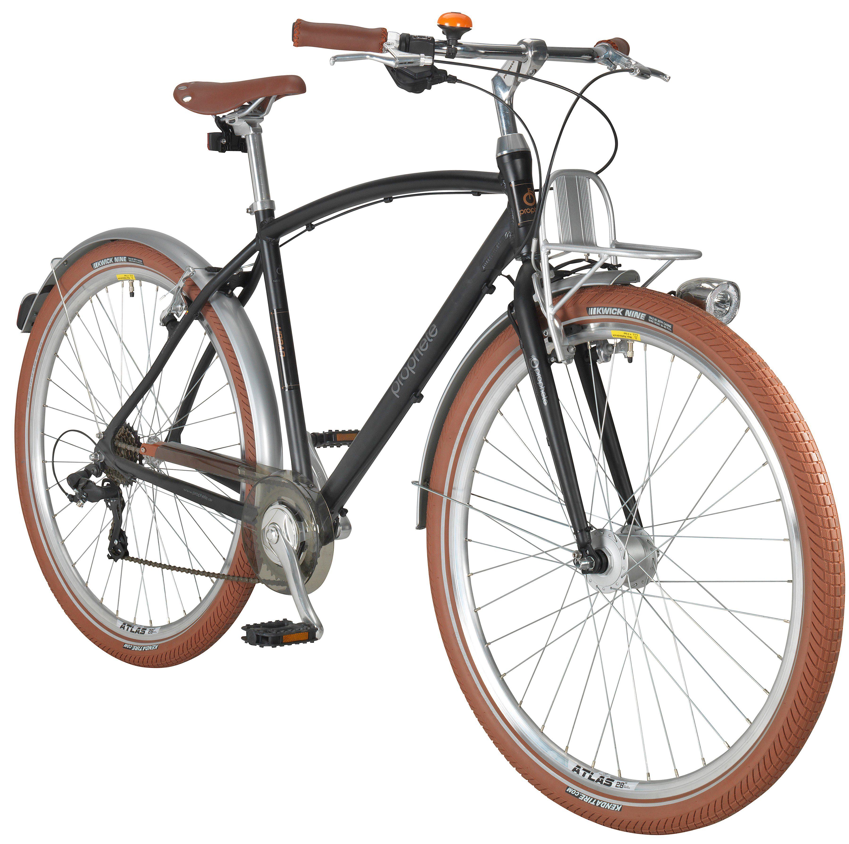 PROPHETE Citybike Herren »GENIESSER Urban«, 28 Zoll, 8-Gang