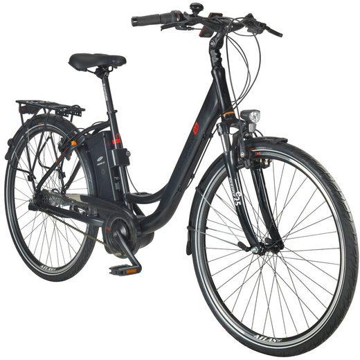 PROPHETE E-Bike City Damen »GENIESSER e8.8«, 28 Zoll, 7-Gang, AEG-Mittelmotor, 461 Wh