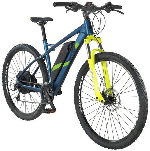 rex e bike mountainbike graveler e8 6 29 zoll 27 gang heckmotor 487 wh online kaufen otto. Black Bedroom Furniture Sets. Home Design Ideas