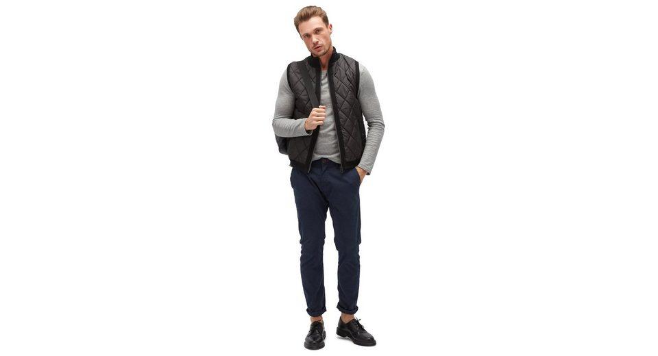Tom Tailor Strickjacke mit Steppung Billig Ausverkauf Offizielle Zum Verkauf Billig Große Diskont Verkauf Große Überraschung Rabatt Große Überraschung sNOXzxI2o
