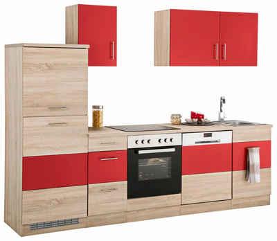 Küchenzeile in rot online kaufen | OTTO