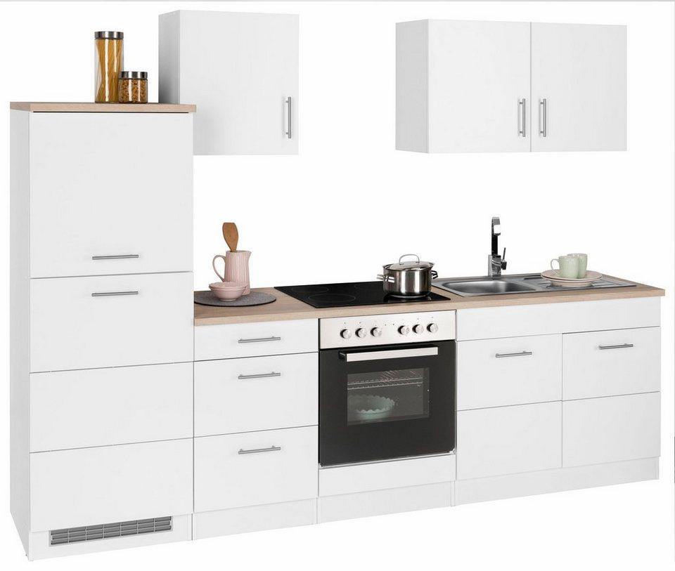 Küchenzeile »Perth«, mit E-Geräten, Breite 270 cm | OTTO
