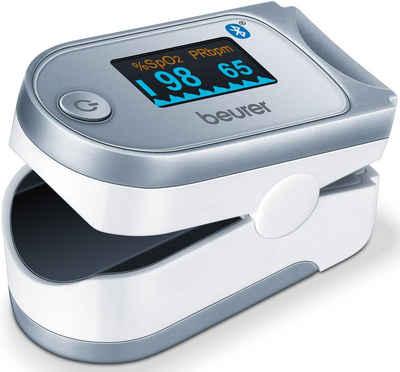 BEURER Pulsoximeter PO 60, innovative Vernetzung zwischen Smartphone und Pulsoximeter