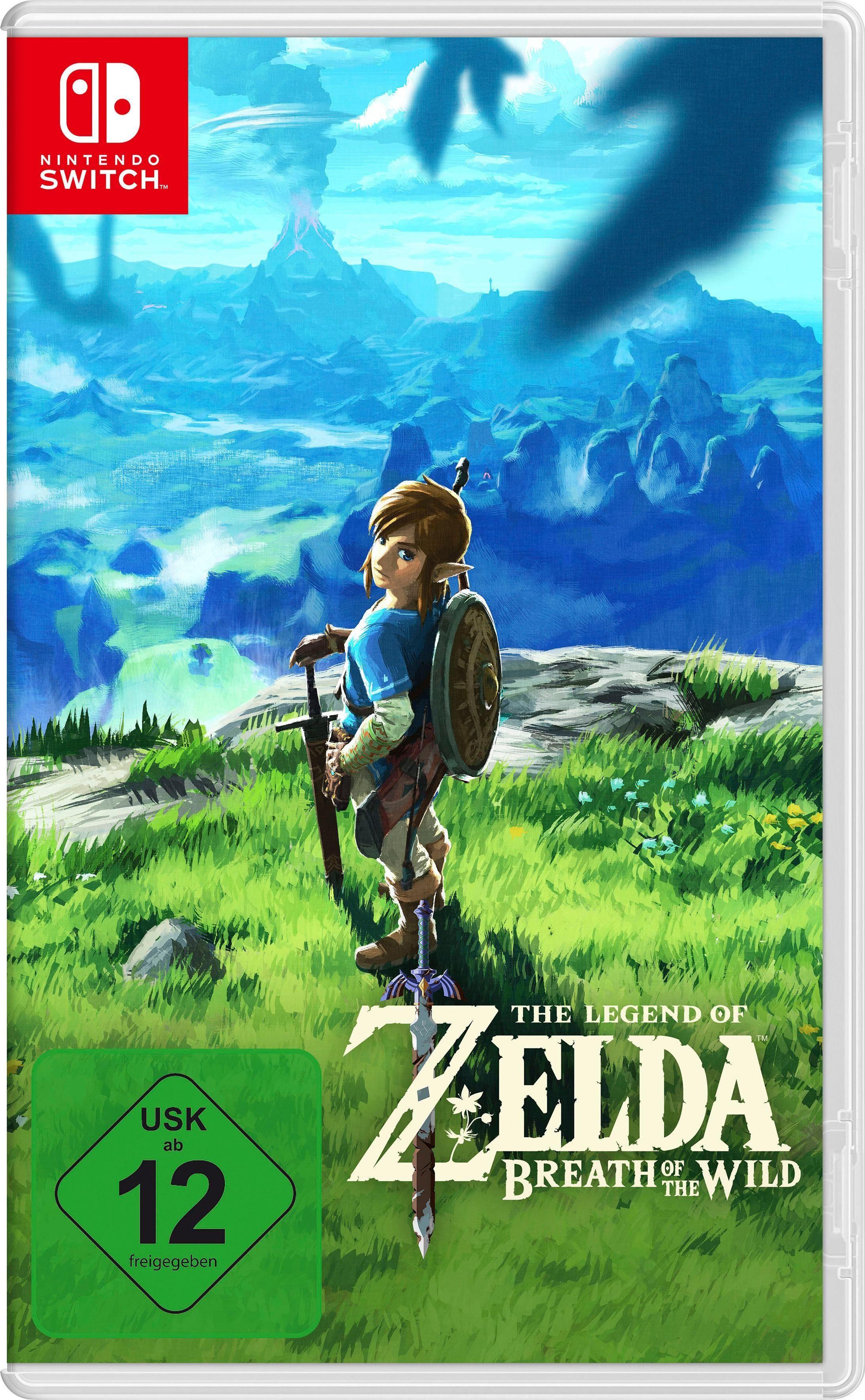 The Legend of Zelda: Breath of the Wild Nintendo Switch