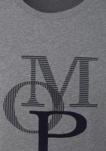 "Marc O'Polo Herren T-Shirt mit ""MOP"" Print"