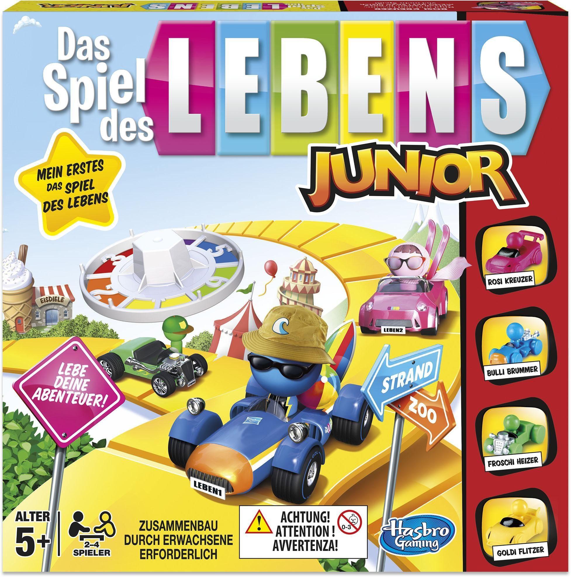 Hasbro Kinderspiel, »Hasbro Gaming ,Das Spiel des Lebens Junior«