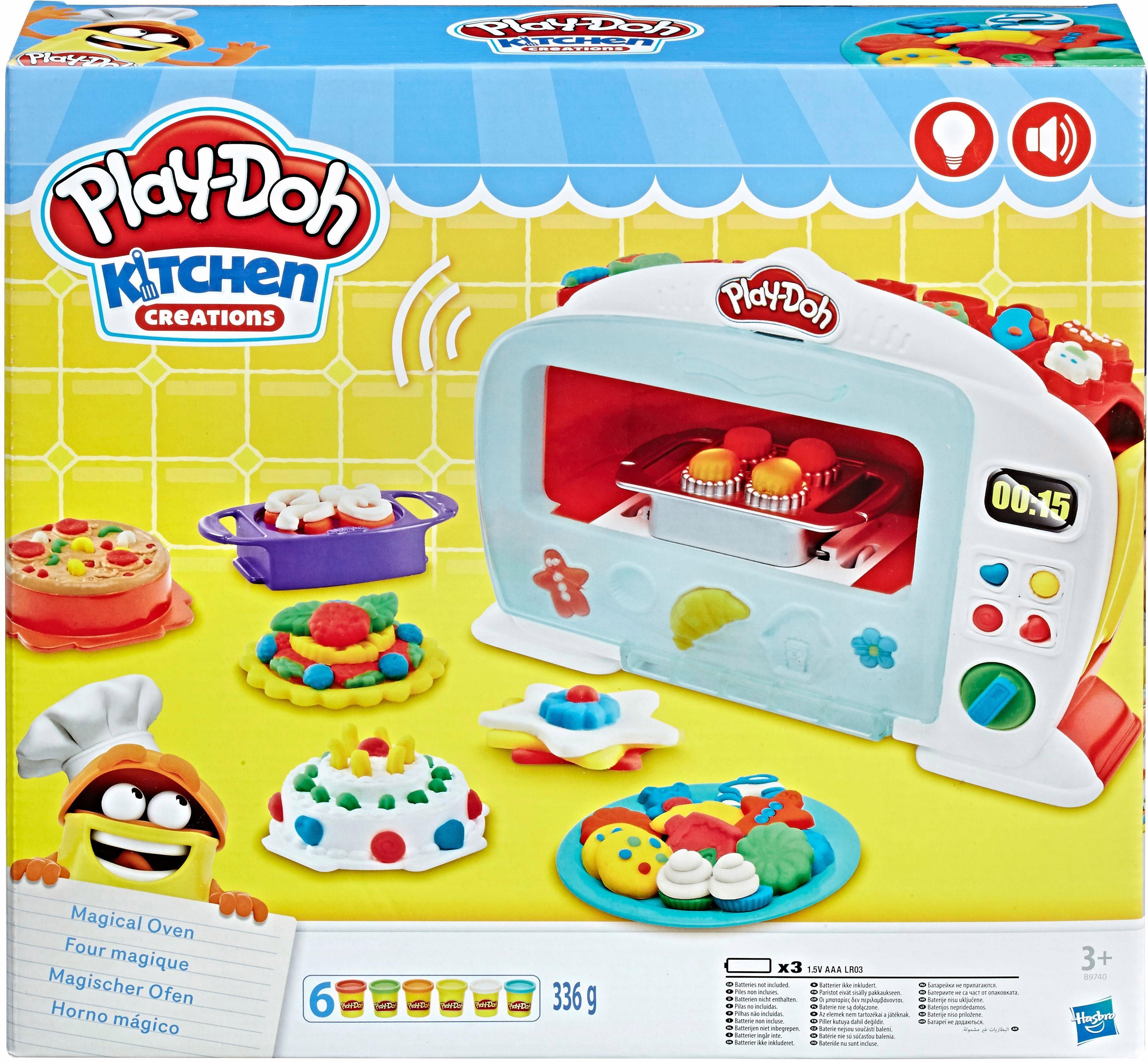 Hasbro Knetset, »Play-Doh, Magischer Ofen«