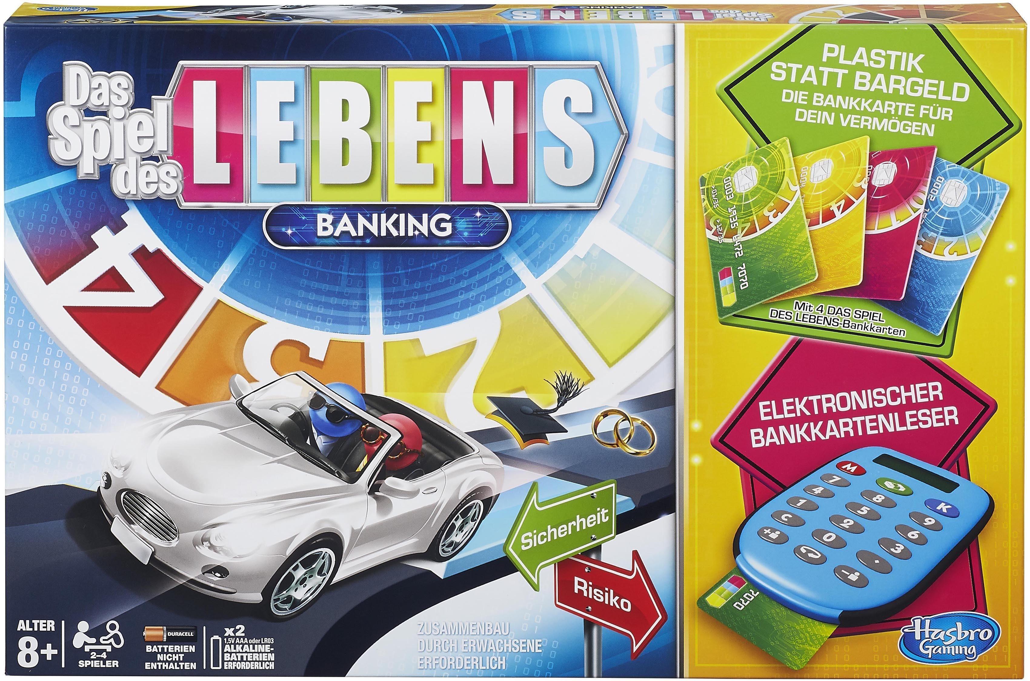 Hasbro Gesellschaftsspiel, »Hasbro Gaming, Das Spiel des Lebens Banking«