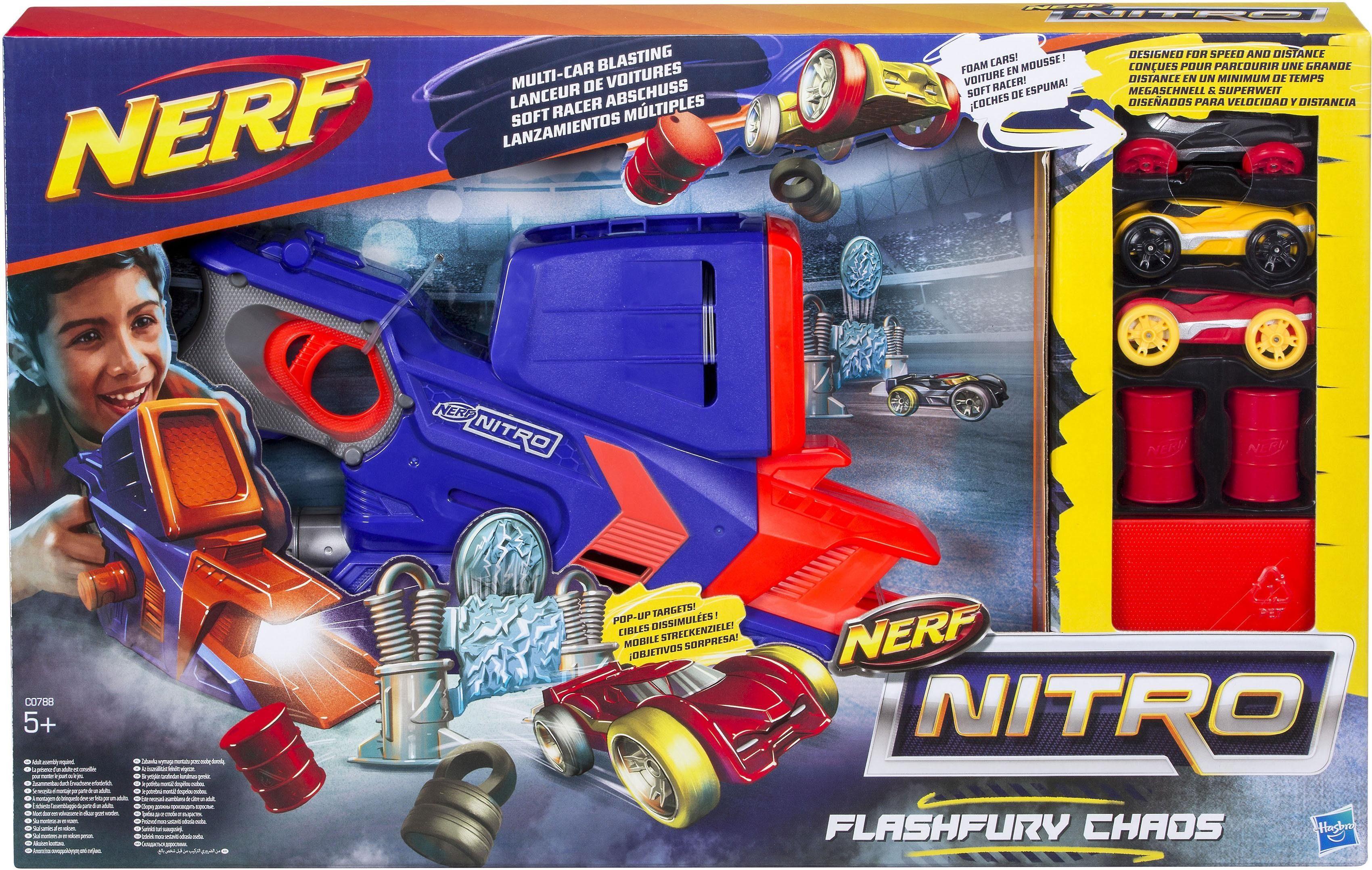 Hasbro Spiel Set, »Nerf Nitro FlashFury Chaos«