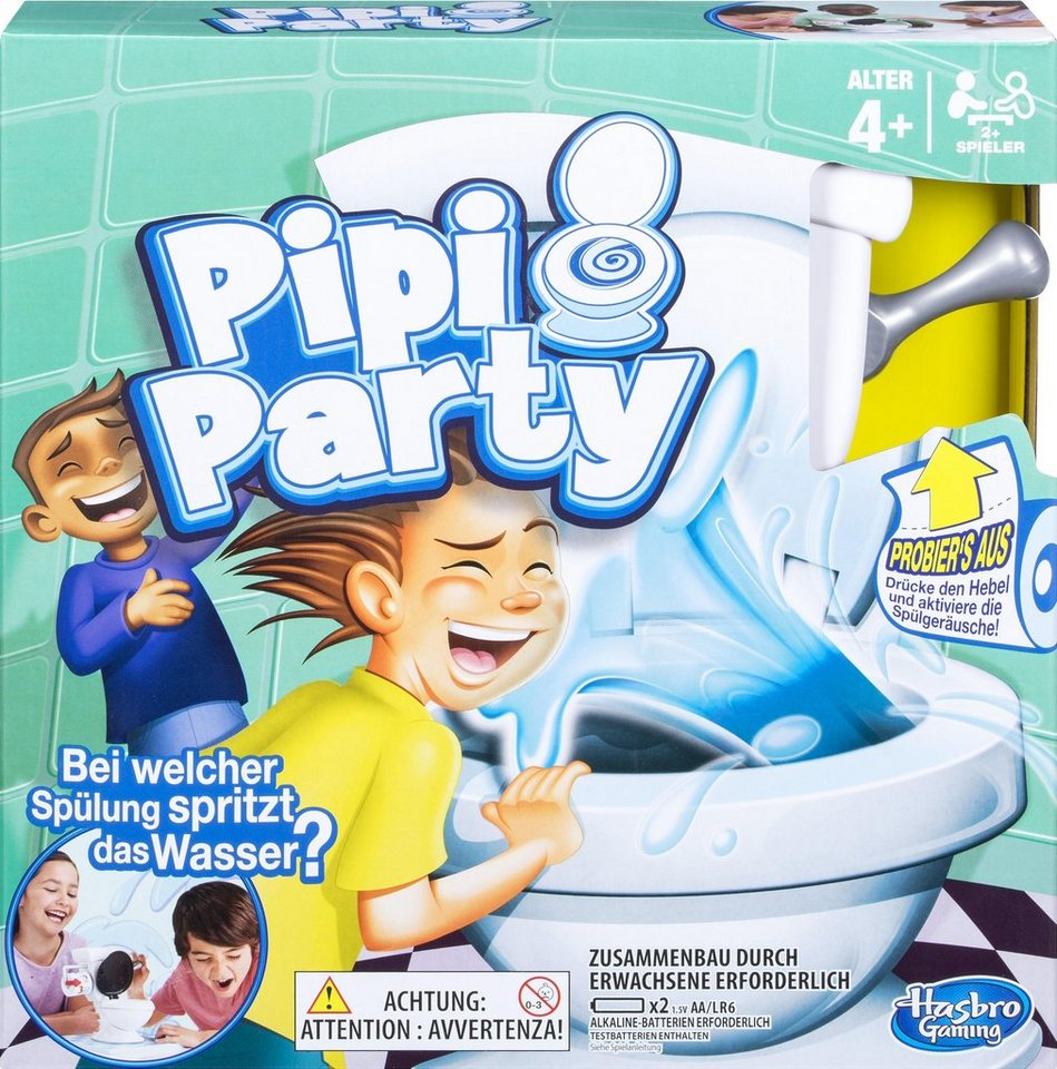Pipi Party Spiel