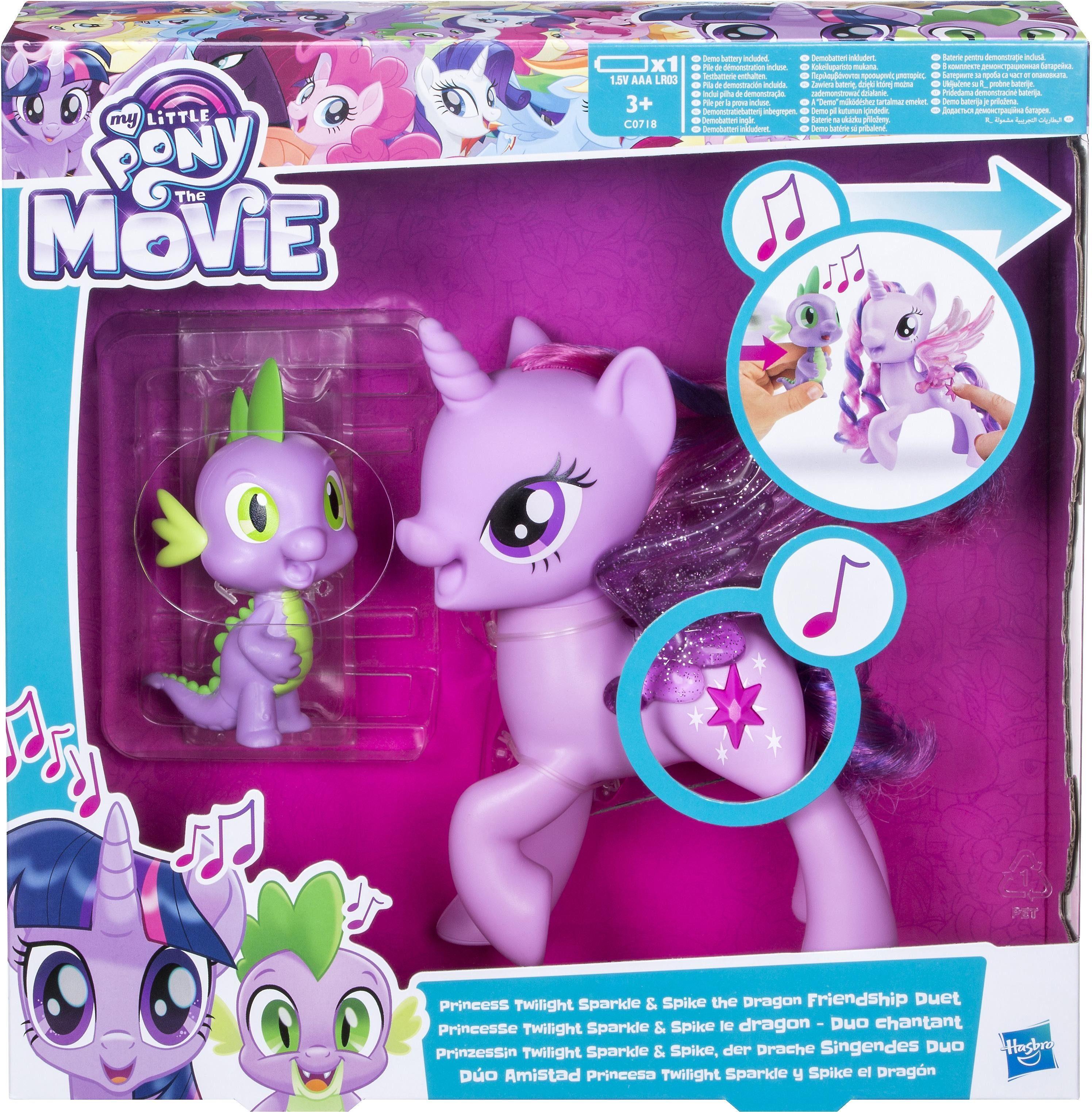 Hasbro Spielfiguren mit Soundeffekten, »My little Pony, Twilight Sparkle und Spike«
