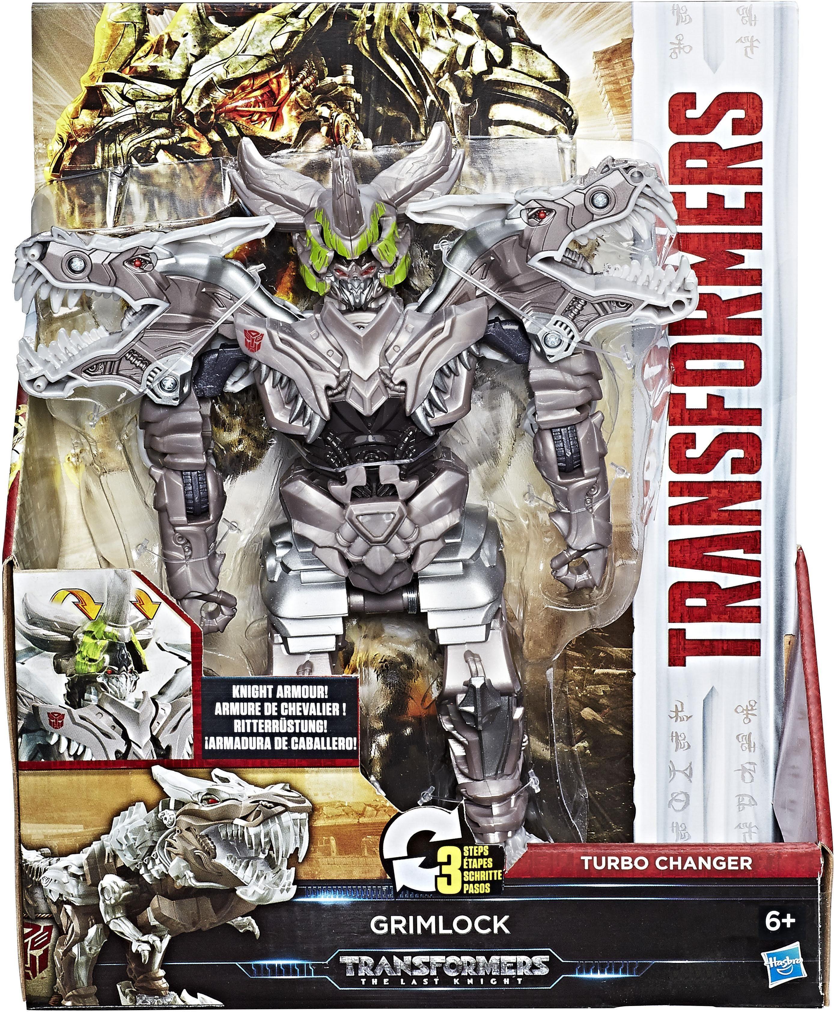 Hasbro Spielfigur, »Transformers 5, KnightArmor Turbo Changer Grimlock«
