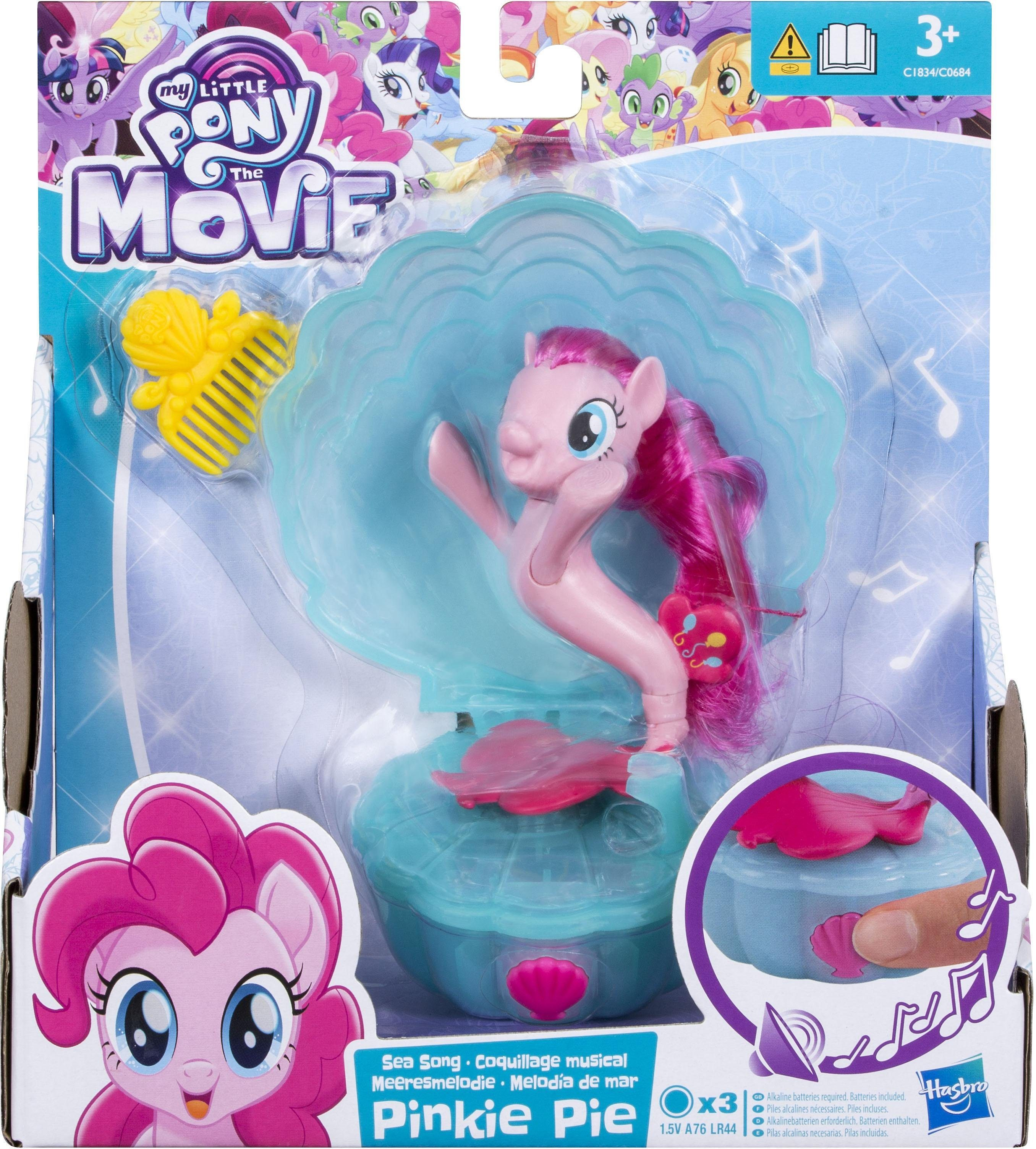 Hasbro Spielfigur mit Soundeffekt, »My Little Pony Movie Meeresmelodie Pony Pinkie Pie«
