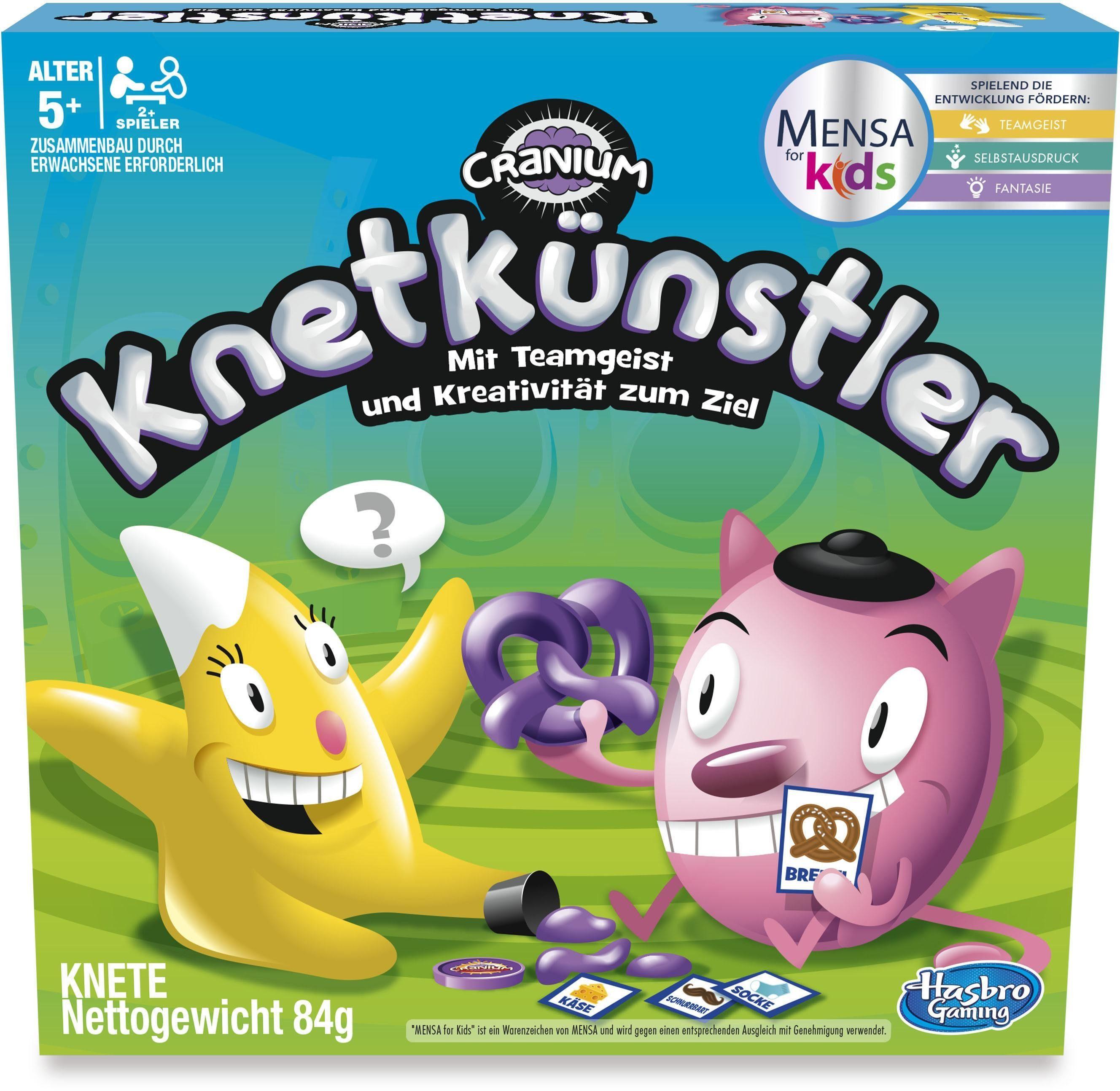 Hasbro Kinderspiel, »Cranium Knetkünstler«
