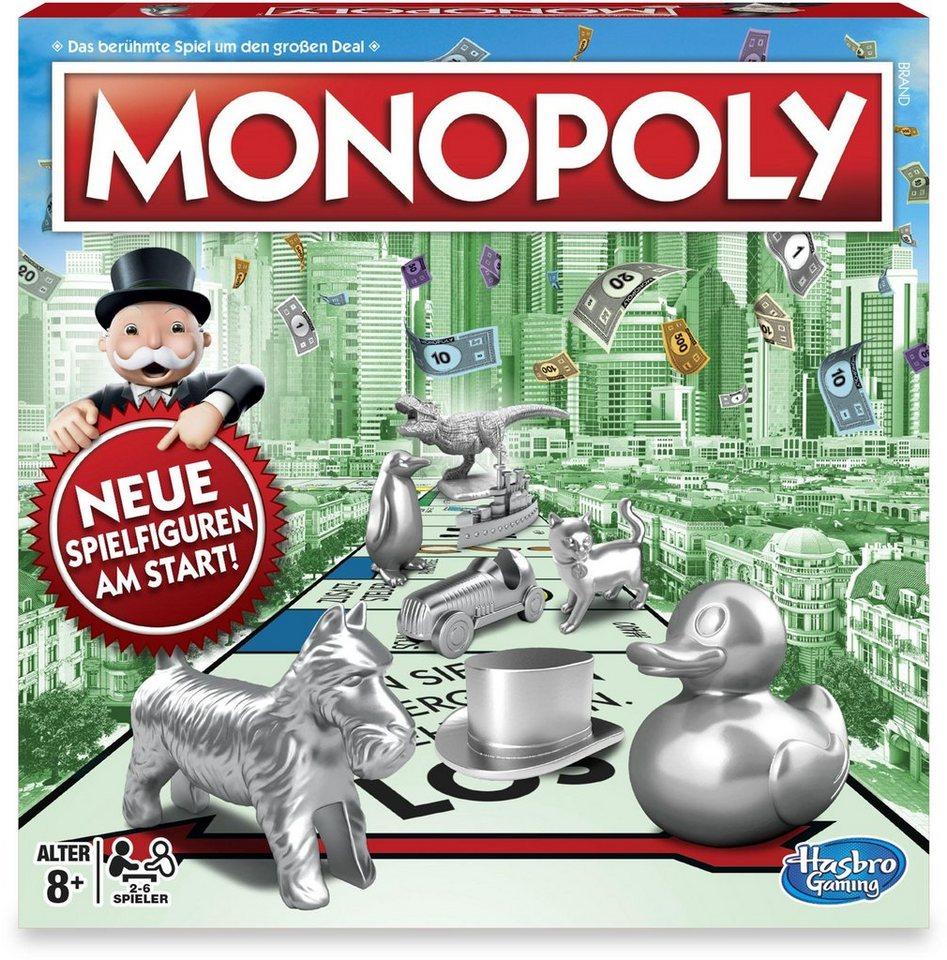 Hasbro Gesellschaftsspiel,  Monopoly Classic