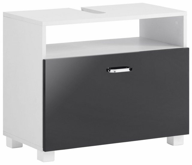 Badschränke - Schildmeyer Waschbeckenunterschrank »Colli« Höhe 54,5 cm, Badezimmerschrank mit Metallgriffen und 1 großen Schublade  - Onlineshop OTTO
