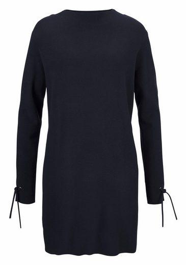 Vero Moda Strickkleid POCHA, mit Bändchen Detail am Ärmel