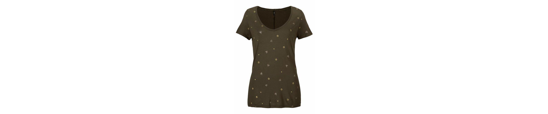 ISABEL mit Only V Shirt Druck Only V Glitzer x6InUqpTI