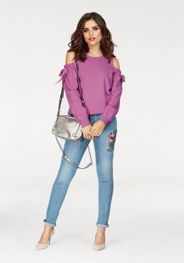 Vero Moda Crew-neck Sweater Celena, With Shoulder Cut Outs