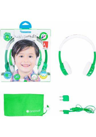 BUDDYPHONES? ? »Inflight grün« Kinder-Kopfhörer