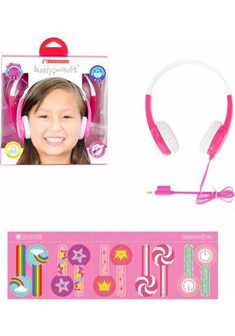 BUDDYPHONES? ? »Standard pink« Kinder-Kopfhörer