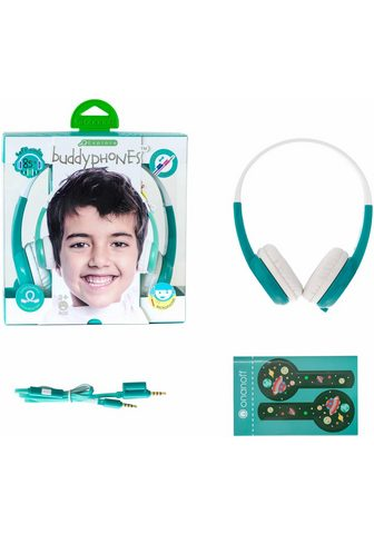 BUDDYPHONES? ? »Explore grün« Kinder-Kopfhörer