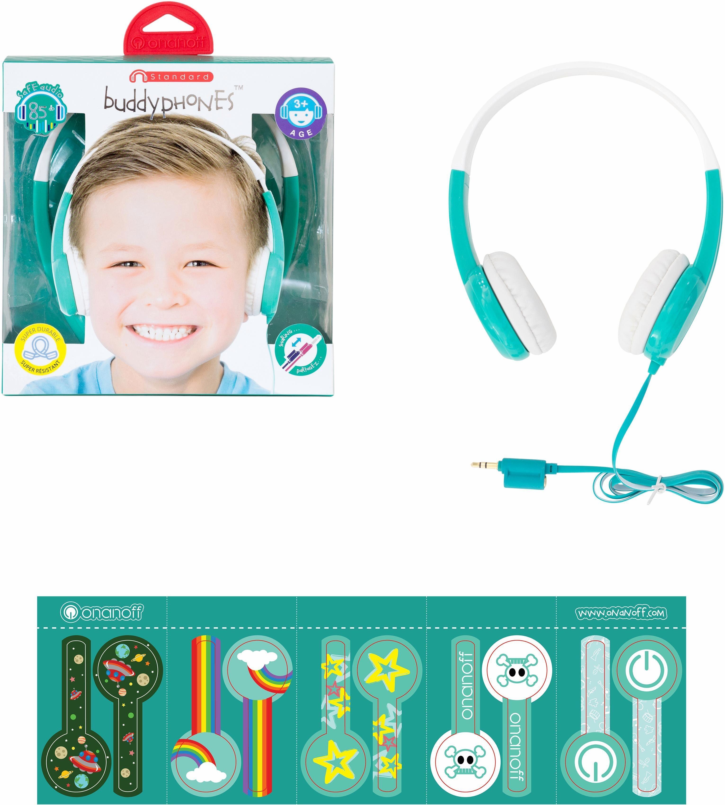buddyphones™ Kinderkopfhörer, »Standard grün«