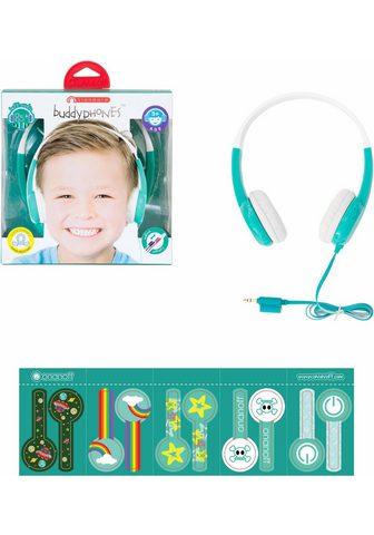 BUDDYPHONES? ? »Standard grün« Kinder-Kopfhörer