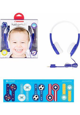 BUDDYPHONES? ? »Standard blau« Kinder-Kopfhörer