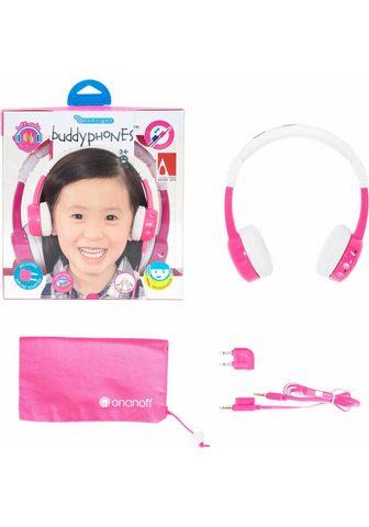BUDDYPHONES? ? »Inflight pink« Kinder-Kopfhörer