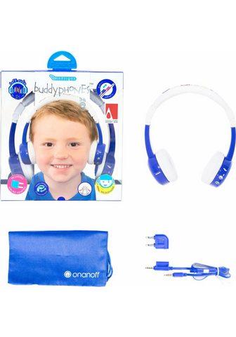 BUDDYPHONES? ? »Inflight blau« Kinder-Kopfhörer