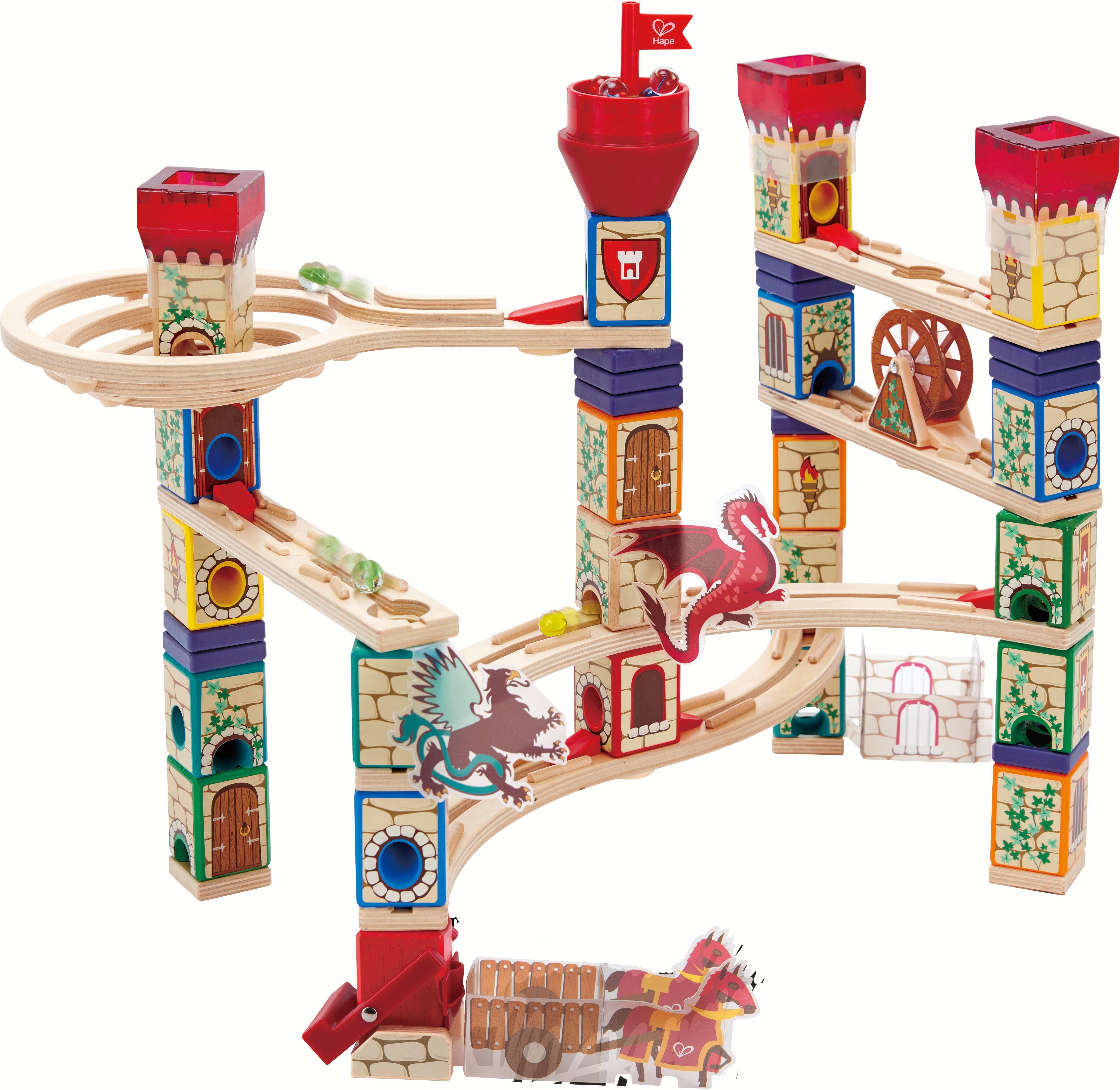 Hape Kugelbahn, »Quadrilla - Mittelalterliches Murmelspektakel«