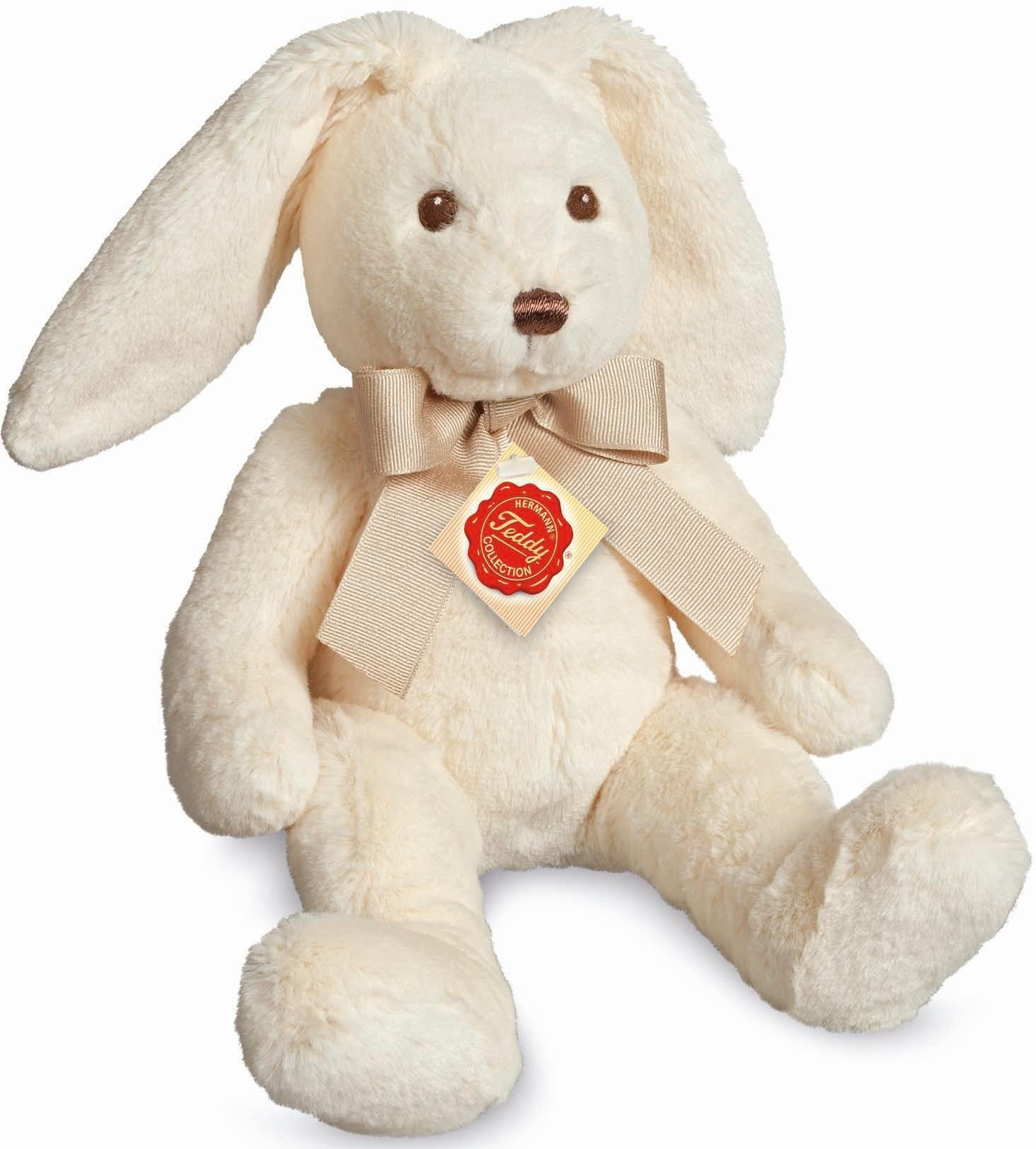 Teddy Hermann® COLLECTION Plüschtier, »Hase creme, 32 cm«