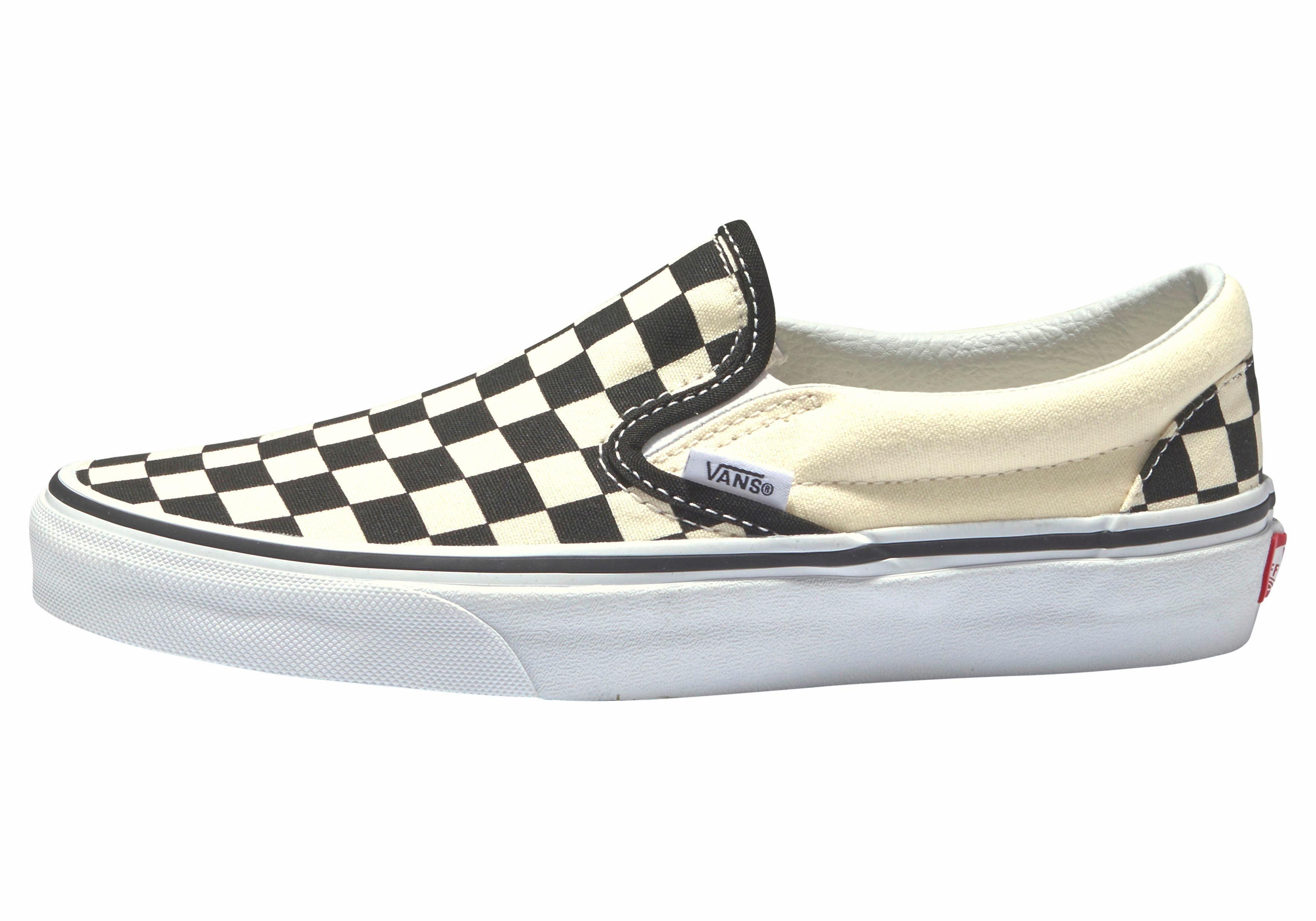 Vans Checkerboard Slip-On Sneaker online kaufen  offwhite-schwarz
