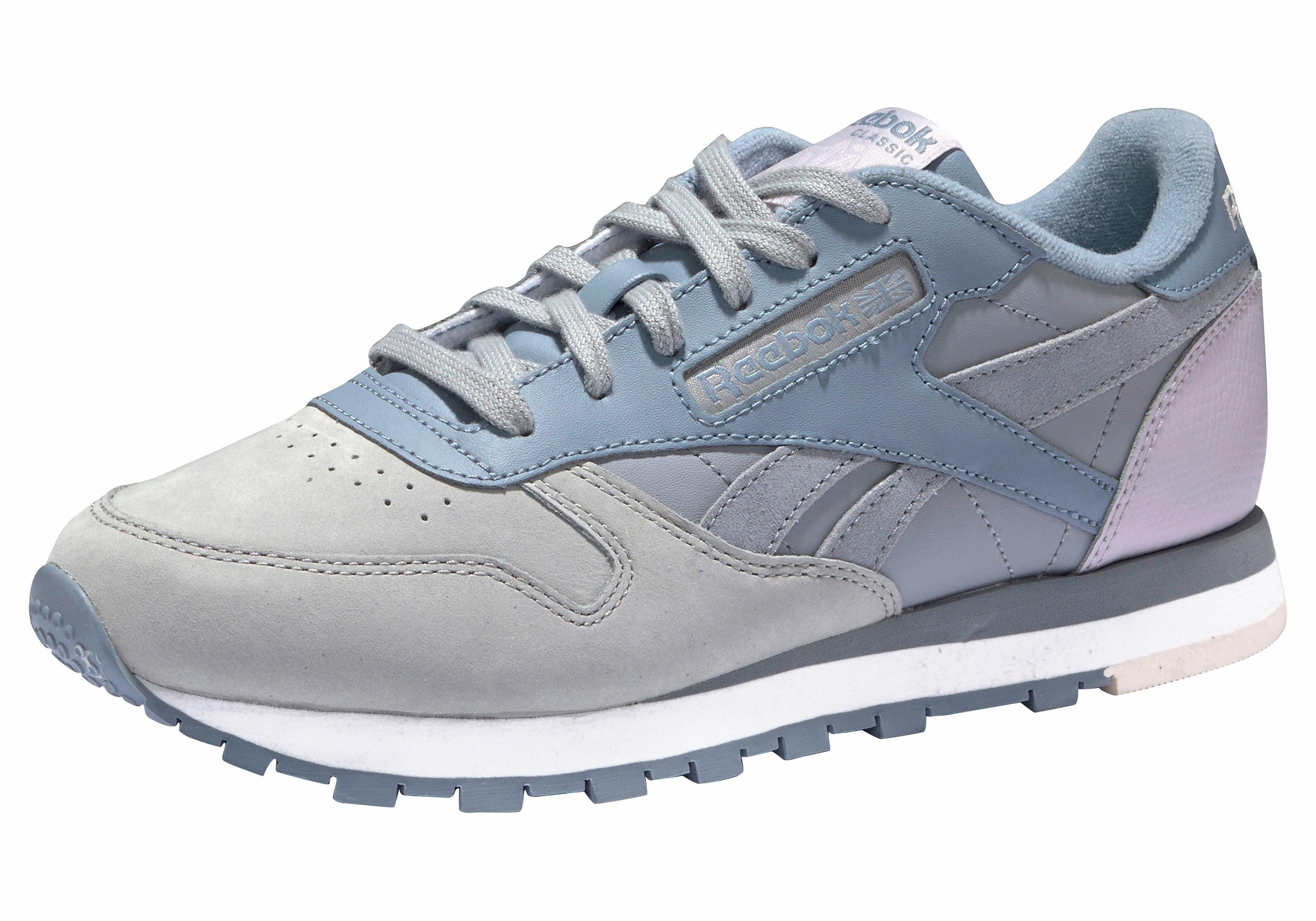 Reebok Cl Leather Satin W Lo Sneaker Schuhe grau 9cJqs