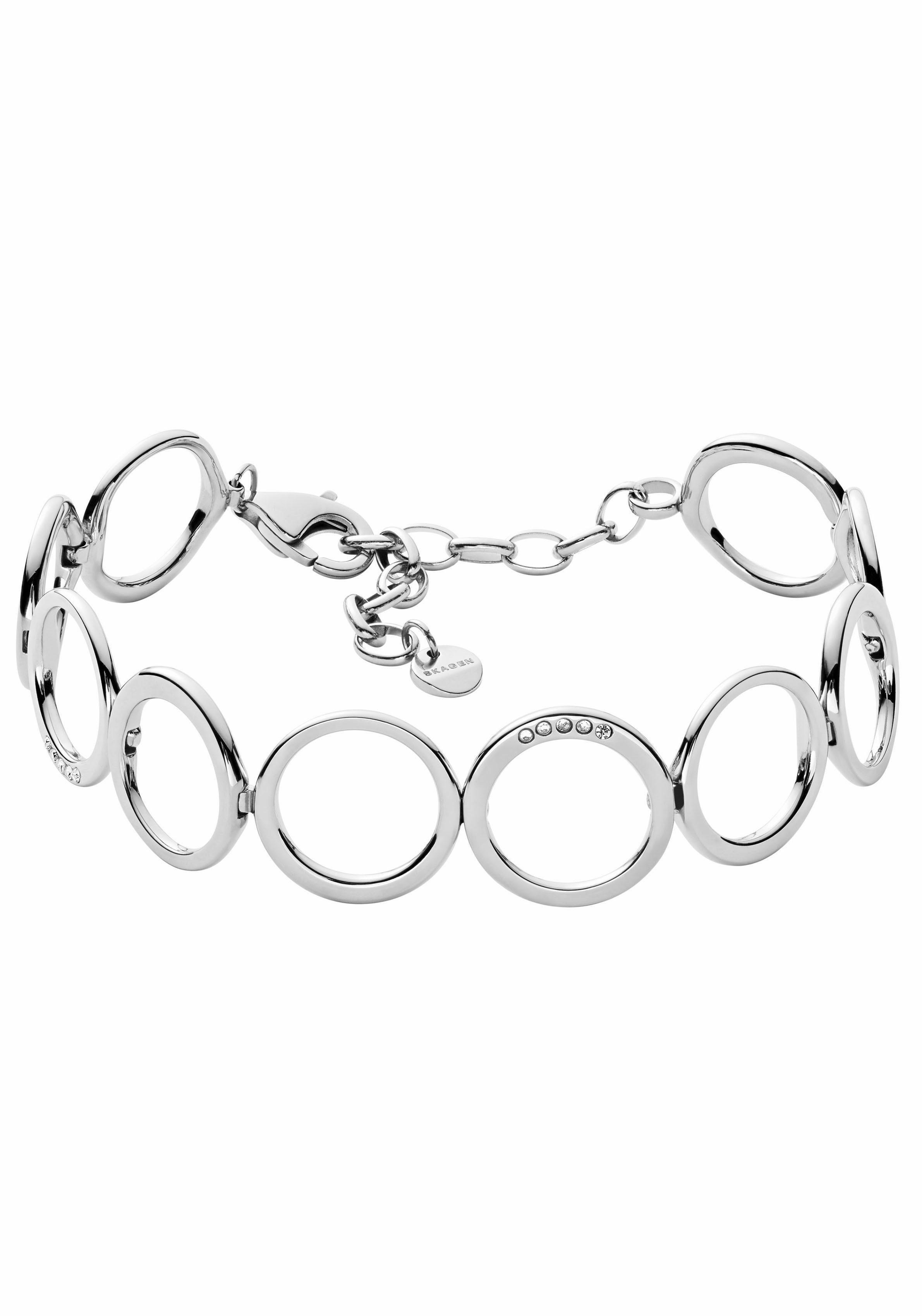 Skagen Armband »ELIN, SKJ1056040«, mit Glassteinen