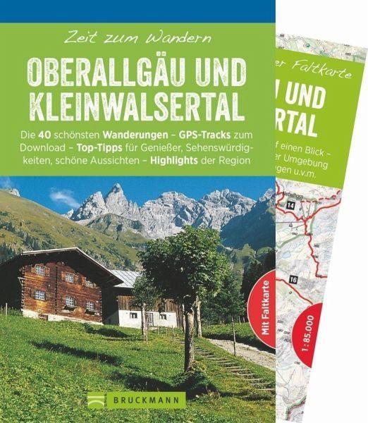 Broschiertes Buch »Zeit zum Wandern Oberallgäu und Kleinwalsertal«