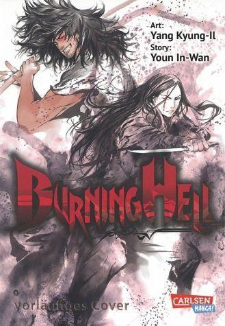 Broschiertes Buch »Burning Hell«