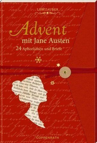 Broschiertes Buch »Advent mit Jane Austen. Lesezauber«