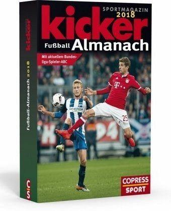Broschiertes Buch »Kicker Fußball-Almanach 2018«