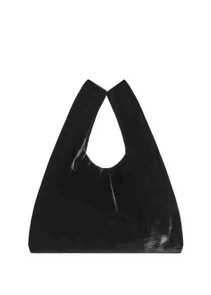 MANGO Shopper Bag aus Samt