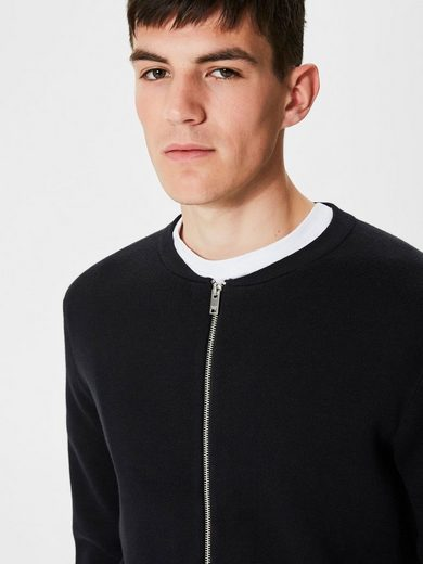Selected Homme Regular-Fit- Strick-Cardigan